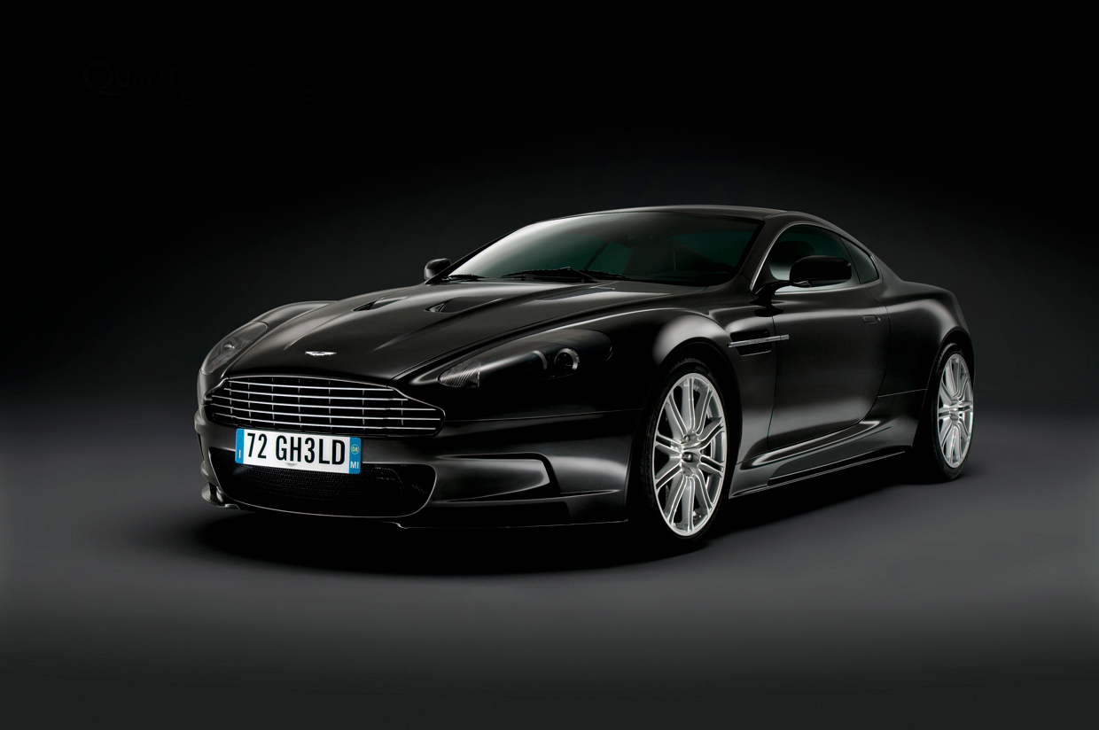 Quantum of Solace Aston Martin Photograph 1